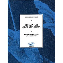 Novello Sonata for Oboe and Piano Music Sales America Series