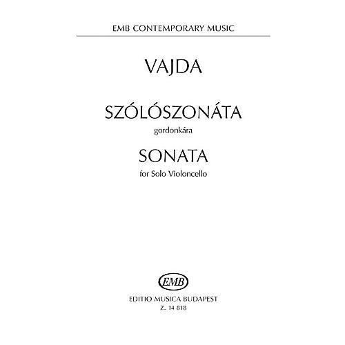 Editio Musica Budapest Sonata for Solo Violoncello EMB Series Softcover