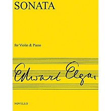 Novello Sonata for Violin and Piano (E Minor), Op. 82 Music Sales America Series