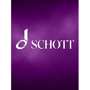 Schott Sonata in A Maj for Oboe and Basso Cont Schott Series by Schott