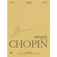 PWM Sonatas, Op. 35 & 58 (Chopin National Edition 10A, Vol. X) PWM Series Softcover