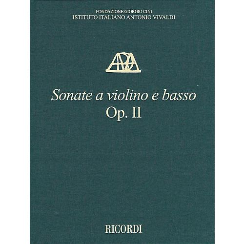 Ricordi Sonate a violino e basso, Op. II - Critical Edition of the Works of Antonio Vivaldi Hardcover