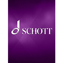 Schott Frères Sonate (for Piano) Schott Series