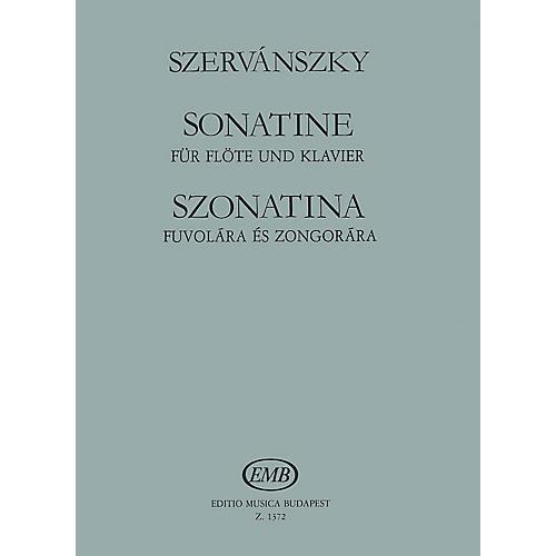 Editio Musica Budapest Sonatina EMB Series by Endre Szervánszky