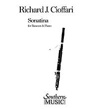 Southern Sonatina for Bassoon and Piano (Bassoon) Southern Music Series by Richard J. Cioffari