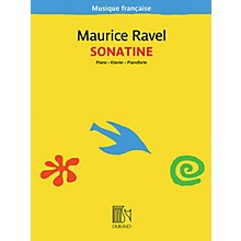 Editions Durand Sonatine for Piano (Musique française series) Editions Durand Series Softcover Composed by Maurice Ravel
