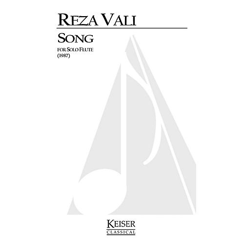 Lauren Keiser Music Publishing Song (Flute Solo) LKM Music Series Composed by Reza Vali
