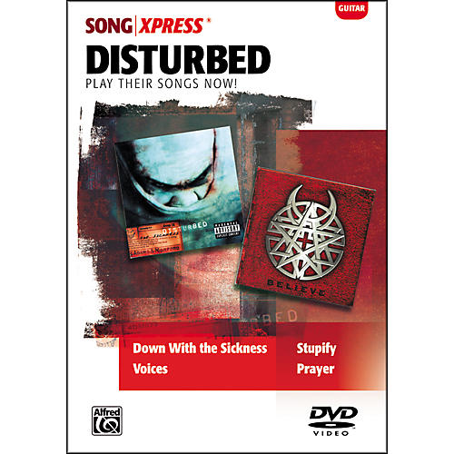 Alfred SongXpress - Disturbed Guitar DVD