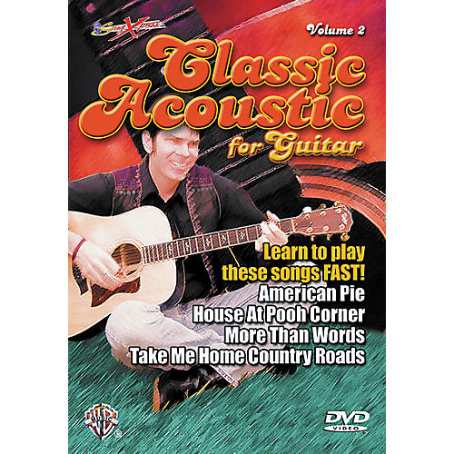 Alfred SongXpress Classic Acoustic Volume 2 DVD