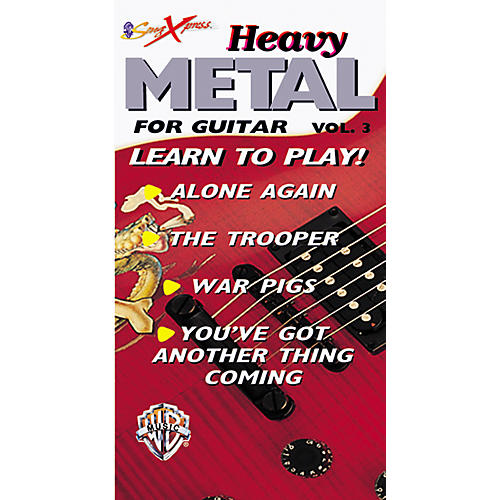 Alfred SongXpress Heavy Metal for Guitar - Volume 3 Video