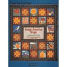 G. Schirmer Songs America Sings 121 Easy Arrangements for Piano, Vocal, Guitar Songbook