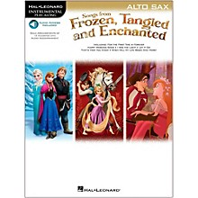 Hal Leonard Songs From Frozen, Tangled And Enchanted For Alto Sax - Instrumental Play-Along Book/Online Audio