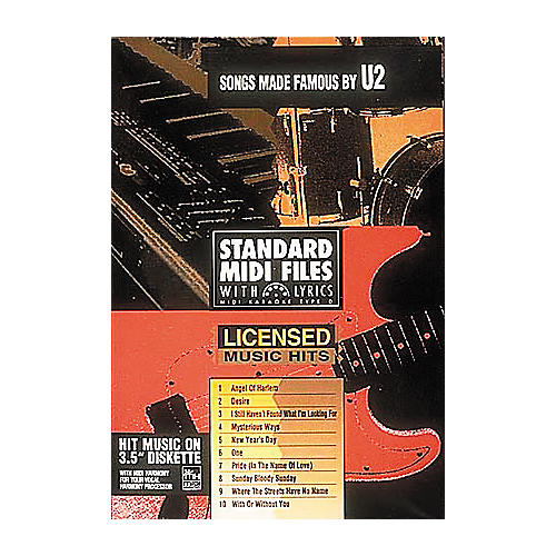 Hal Leonard Songs Made Famous by U2 - Tune 1000 Series (3-1/2