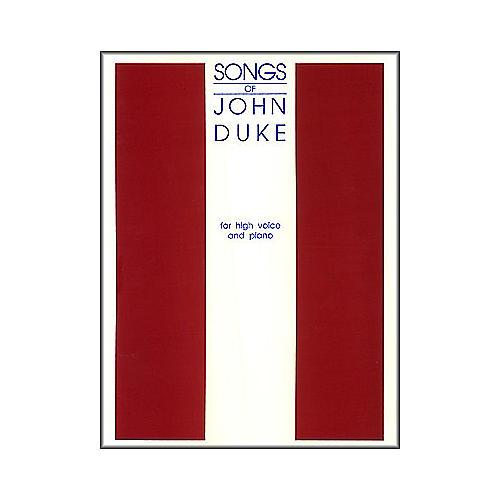 G. Schirmer Songs Of John Duke for High Voice
