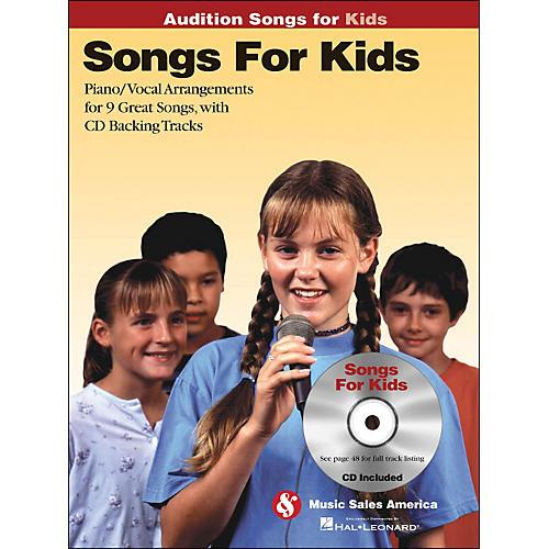 Hal Leonard Songs for Kids - Audition Songs Series Book/CD