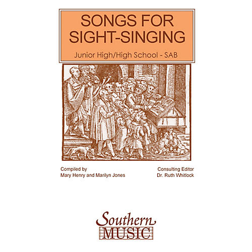 Southern Songs for Sight Singing - Volume 1 (Junior High/High School Edition SAB Book) SAB Arranged by Mary Henry