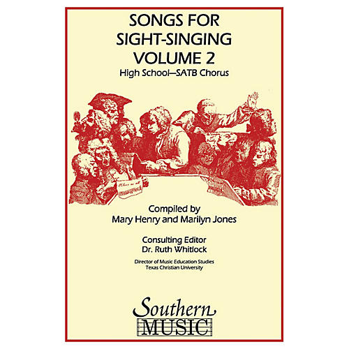 Southern Songs for Sight Singing - Volume 2 (High School Edition SATB Book) SATB Arranged by Mary Henry