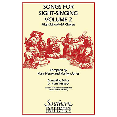 Southern Songs for Sight Singing - Volume 2 (High School Edition SSA Book) SSA Arranged by Mary Henry