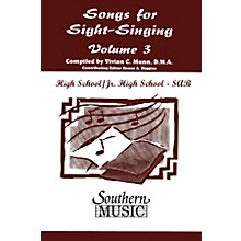 Southern Songs for Sight Singing - Volume 3 (Junior High/High School Edition SAB Book) SAB Arranged by Mary Henry