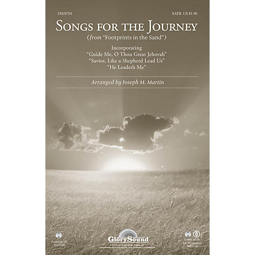 Shawnee Press Songs for the Journey (from Footprints in the Sand) SATB arranged by Joseph M. Martin
