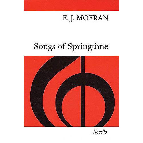 Novello Songs of Springtime SATB a cappella Composed by E.J. Moeran