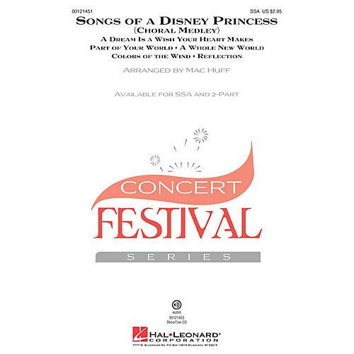 Hal Leonard Songs of a Disney Princess (Choral Medley) ShowTrax CD Arranged by Mac Huff