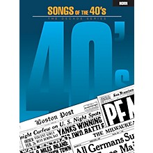 Hal Leonard Songs of the '40s (Horn) Instrumental Folio Series