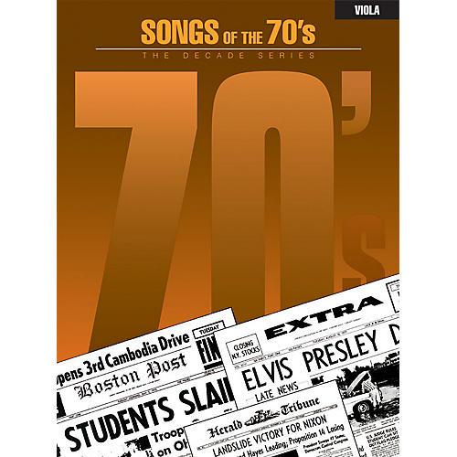 Hal Leonard Songs of the '70s (Viola) Instrumental Folio Series