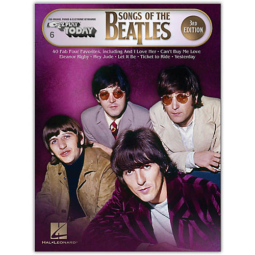 Hal Leonard Songs of the Beatles - 3rd Edition E-Z Play Today Series Songbook