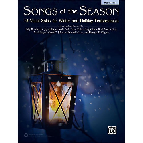 Alfred Songs of the Season Medium High Book