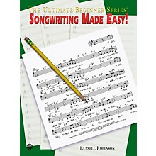 Alfred Songwriting Made Easy Book