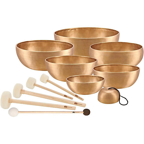 Meinl Sonic Energy 7-Piece Singing Bowl Chakra Set