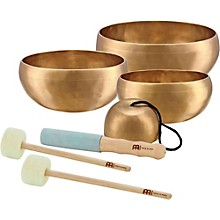 Sonic Energy Cosmos 4-Piece Singing Bowl Set 3.7, 7.6, 9, 10.3 in.