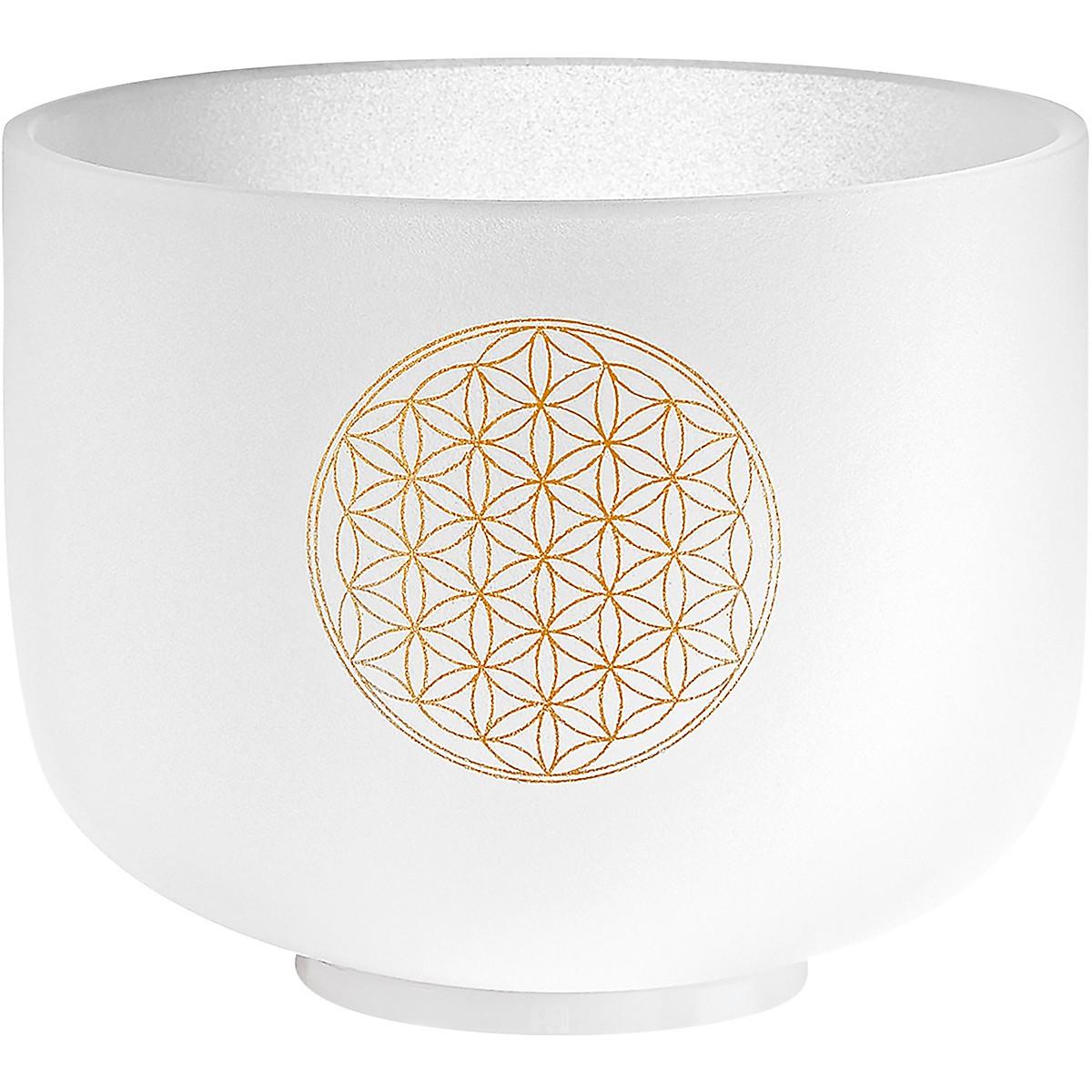 Meinl Sonic Energy Crystal Singing Bowl, Flower of Life