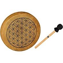 Meinl Sonic Energy HOD15-FOL 15-Inch Native American Style Hoop Drum, Flower of Life Symbol
