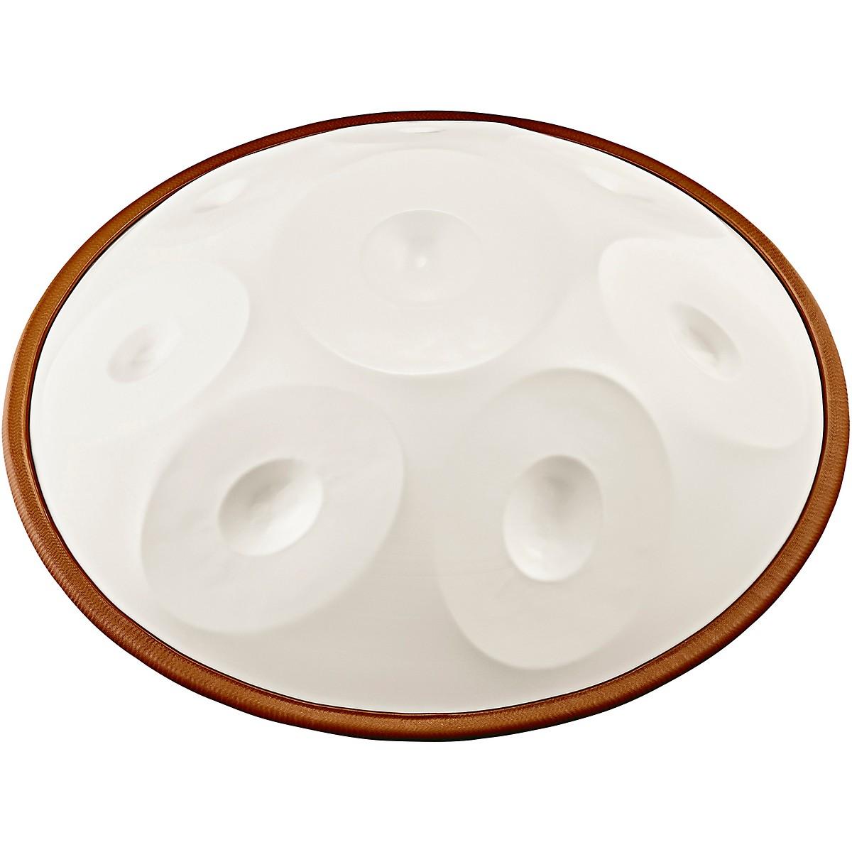 Meinl Sonic Energy Harmonic Art Handpan in White Jade, Natural D