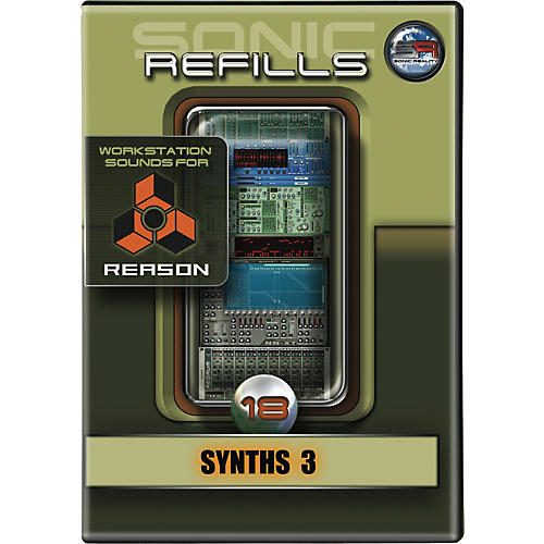 Sonic Reality Sonic Refill for Reason Volume 18 - Synths 3