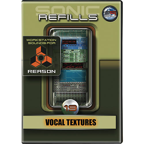 Sonic Reality Sonic Refill for Reason Volume 19 - Vocal Textures