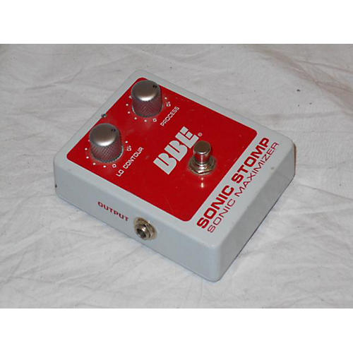 BBE Sonicstomp Sonic Maximizer Effect Pedal