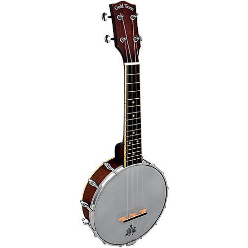 Gold Tone Soprano-Scale Banjo Ukulele with Case