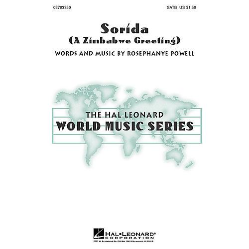 Hal Leonard Sorida (A Zimbabwe Greeting) SATB composed by Rosephanye Powell