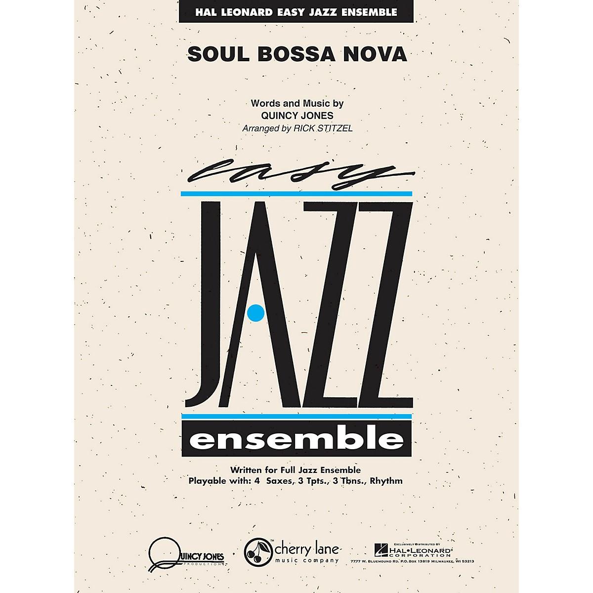 Cherry Lane Soul Bossa Nova Jazz Band Level 2 Arranged by Rick Stitzel