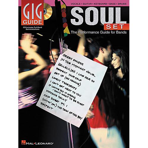 Hal Leonard Soul Set Gig Guide (Book/CD)