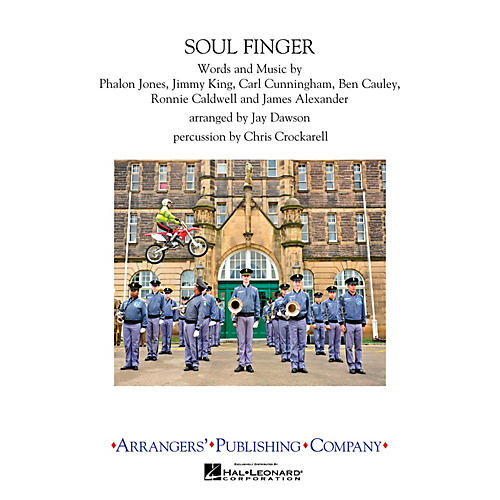 Arrangers Soulfinger Marching Band Level 3 Arranged by Jay Dawson