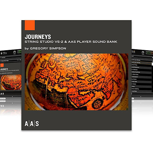 Applied Acoustics Systems Sound Bank Series String Studio VS-2 - Journeys