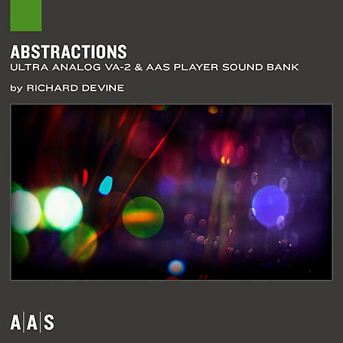 Applied Acoustics Systems Sound Bank Series Ultra Analog VA-2 - Abstractions