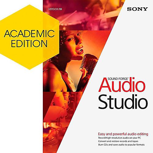Magix Sound Forge Audio Studio 10 - Academic Software Download