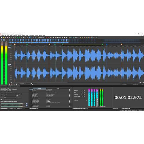 Magix Sound Forge Audio Studio 13