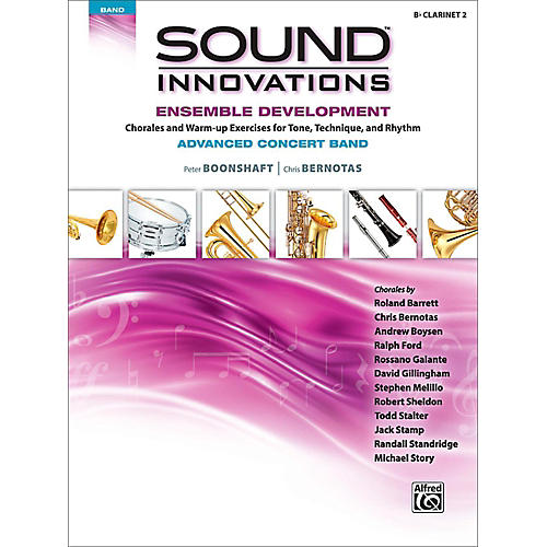 Alfred Sound Innovations Concert Band Ensemble Development Advanced Clarinet 2