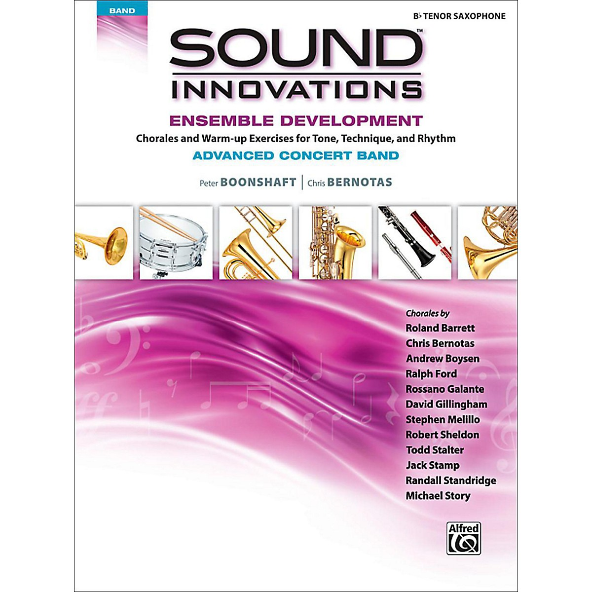 Alfred Sound Innovations Concert Band Ensemble Development Advanced Tenor Saxophone
